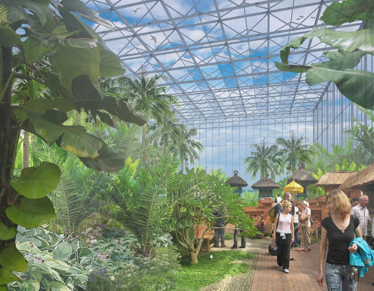 Neue Tropenhalle für Gärten der Welt