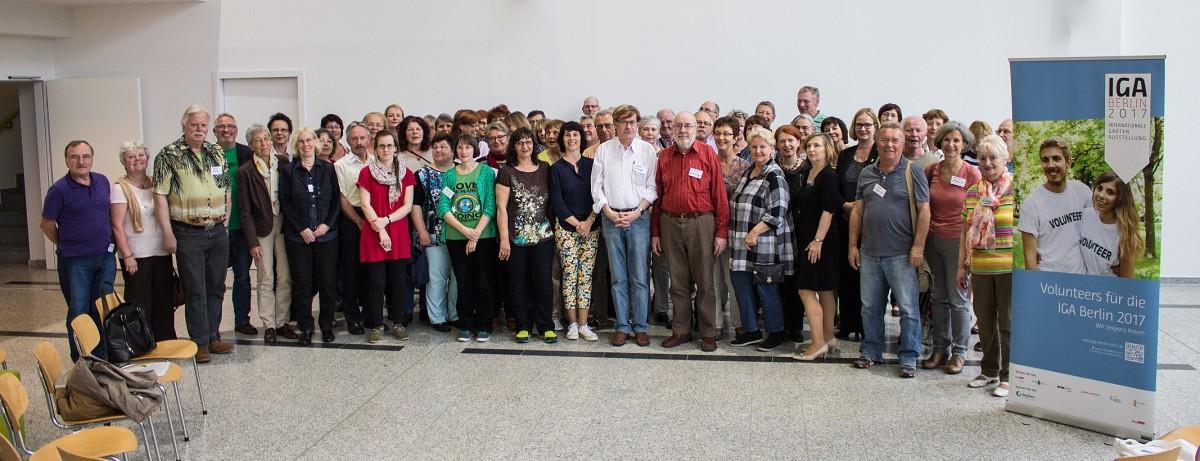 Auftakttreffen der IGA-Volunteers