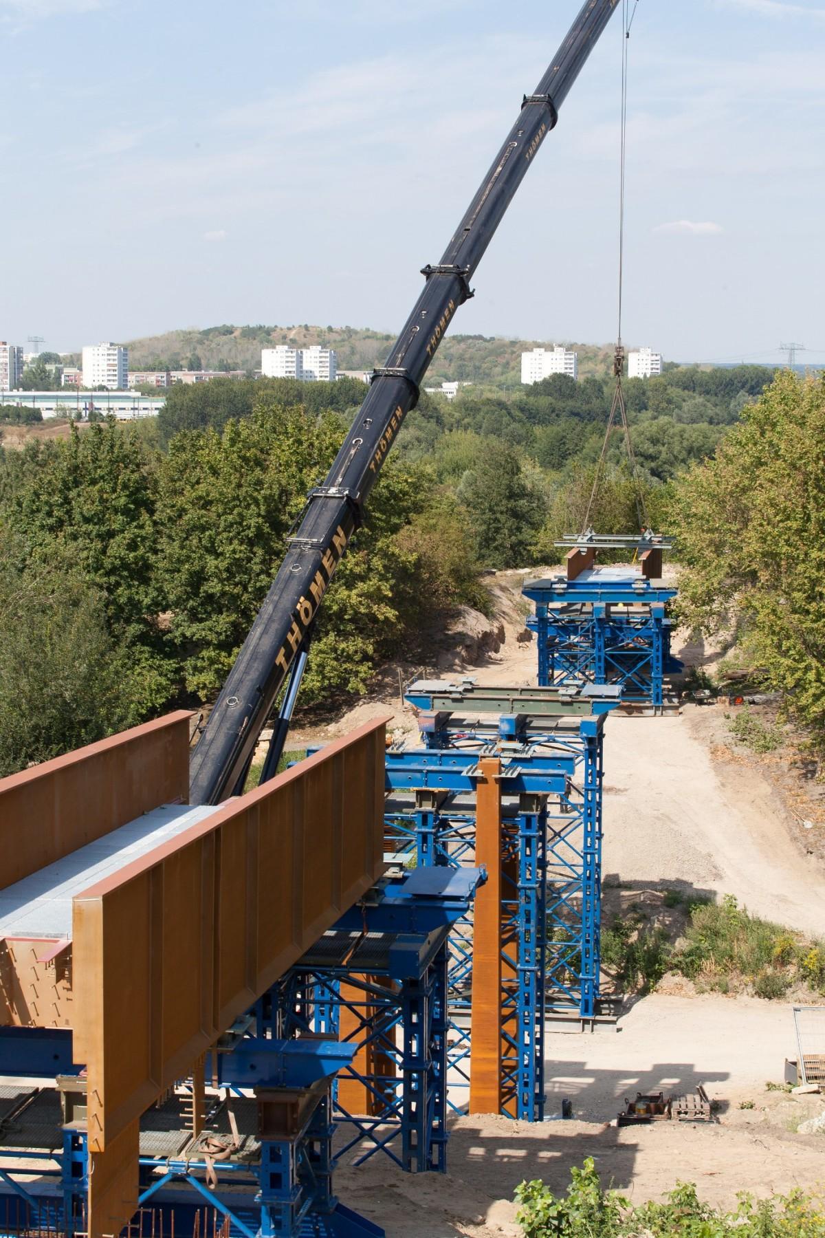 IGA 2017 Tälchenbrücke für die Gärten der Welt