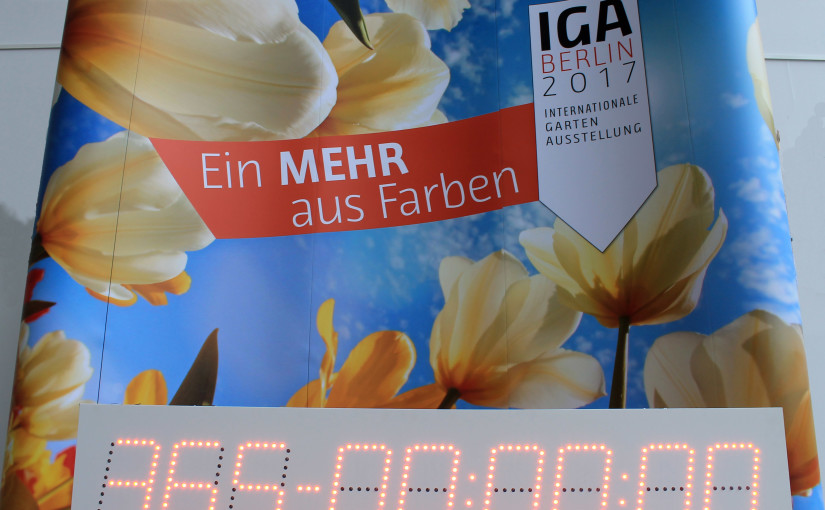 Countdown IGA Berlin 2017
